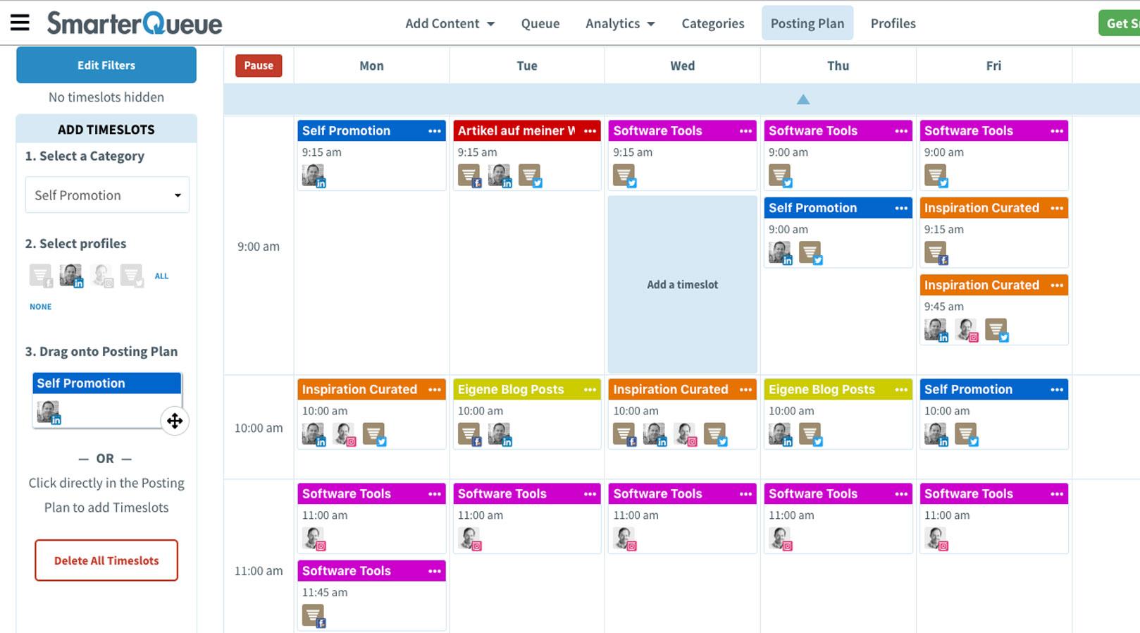 Smarterque-Planung Social Media Management