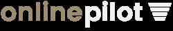 Logo onlinepilot negativ